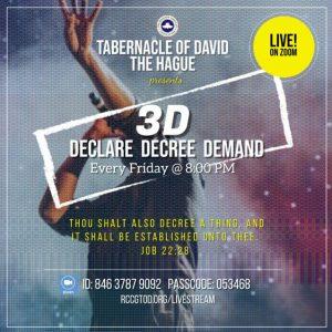 Declare-Decree-Demand